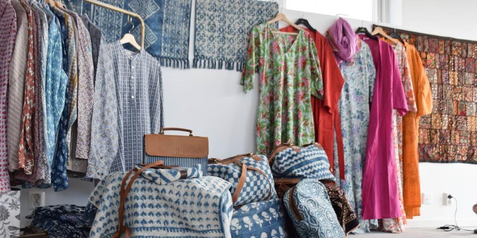 Väskor är en annan nyhet i Hönshuset.