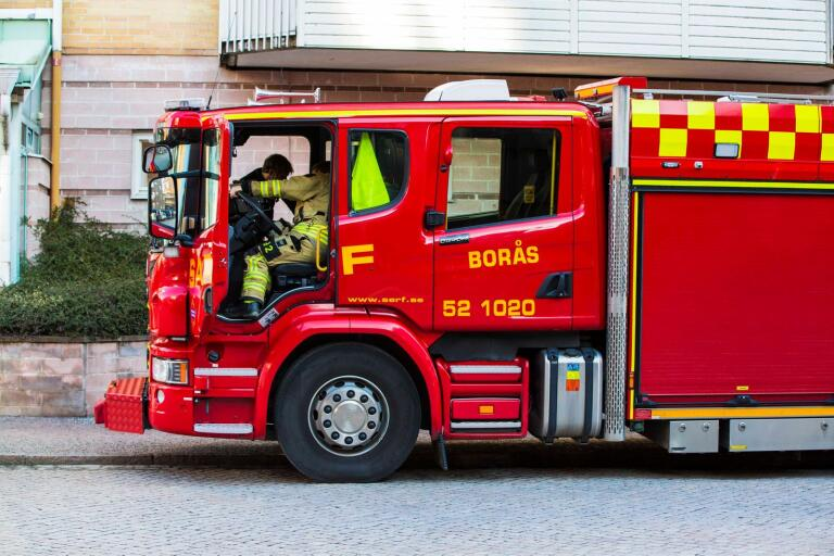 Räddningstjänsten larmades till Torestorp.