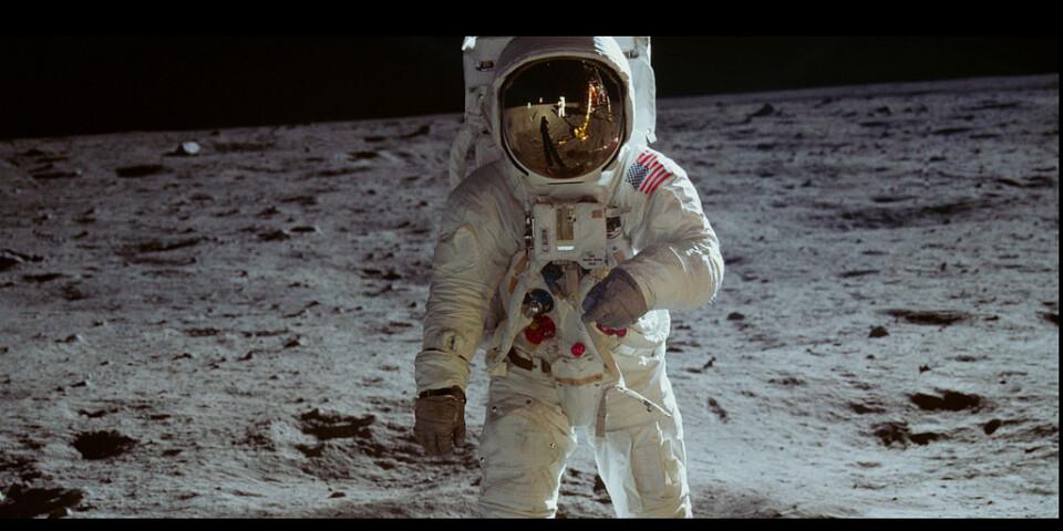 """Dokumentären """"Apollo 11"""" har svensk smygpremiär den 20 juli, exakt 50 år efter månlandningen. Pressbild."""