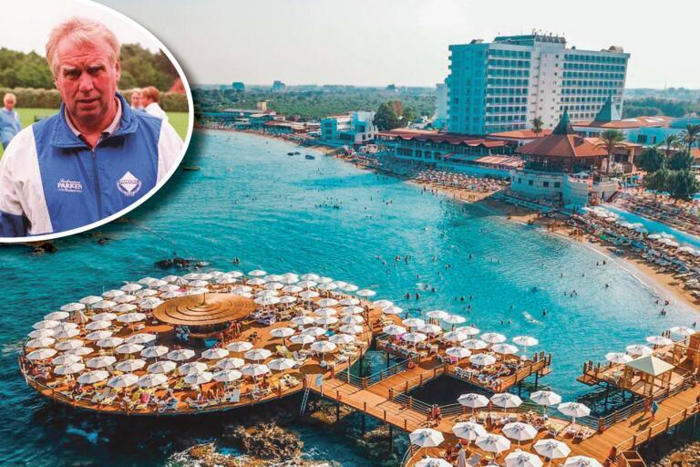 Bengt Haraldsson har inte fått lov att lämna sitt hotellrum i Farmagusta på Cypern. Han har suttit inlåst i 13 dygn.