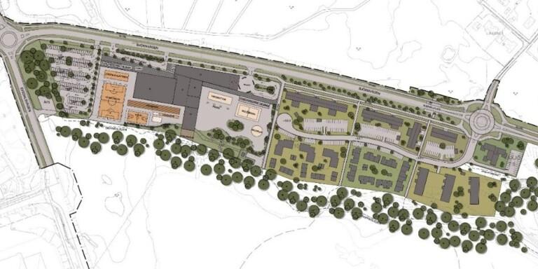 Här är nya planerna för området i Växjö