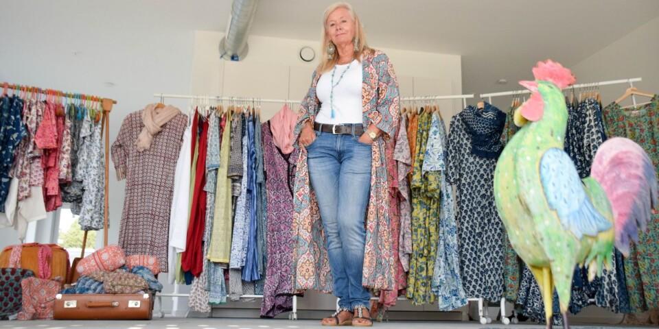 Anki Wedels butik Hönshuset har flyttat från Norrekås till Nyhemsgatan i Skillinge.