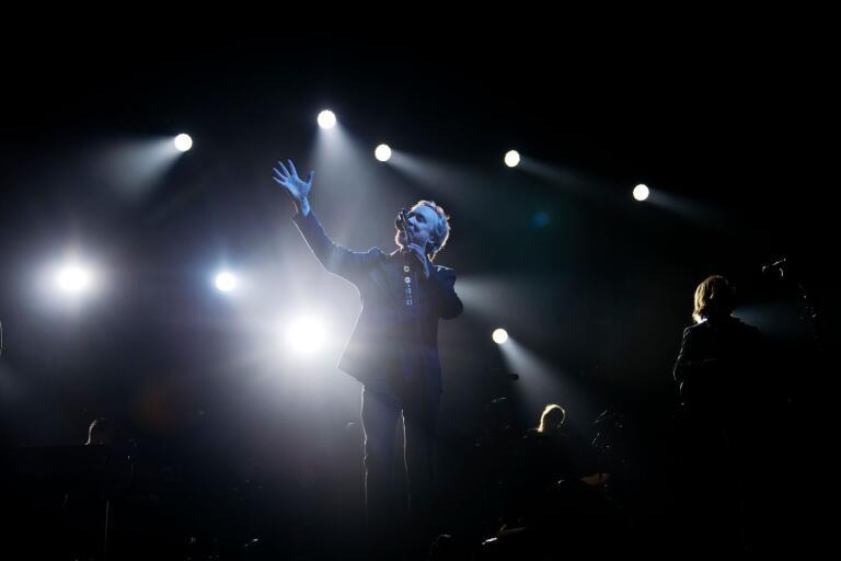 Lars Winnerbäck på turné. Den 22 november 2019 spelade han för ett utsålt Scandinavium i Göteborg.