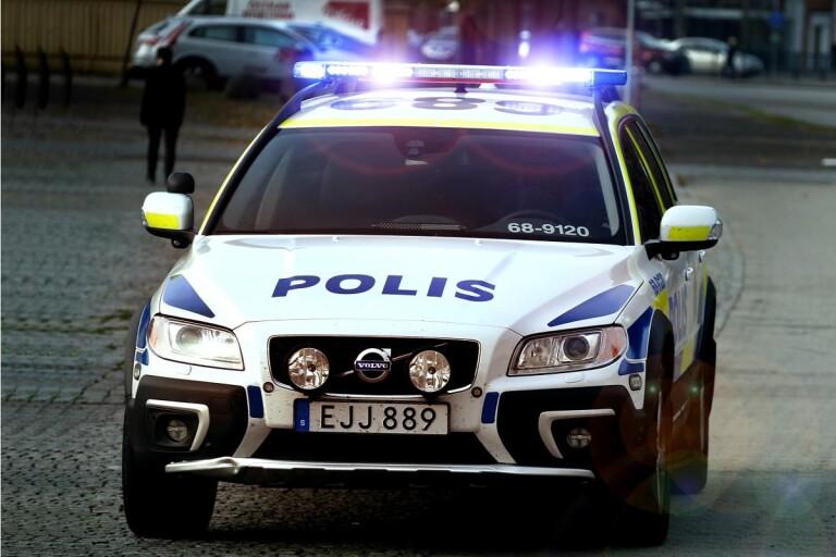 Anställda grep tjuv – en skadades och fick åka ambulans till sjukhus