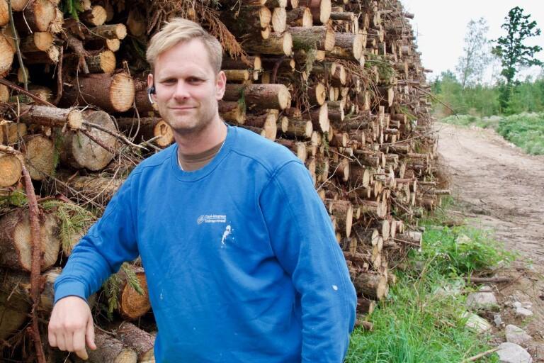 Priset på skogsmark faller i Småland