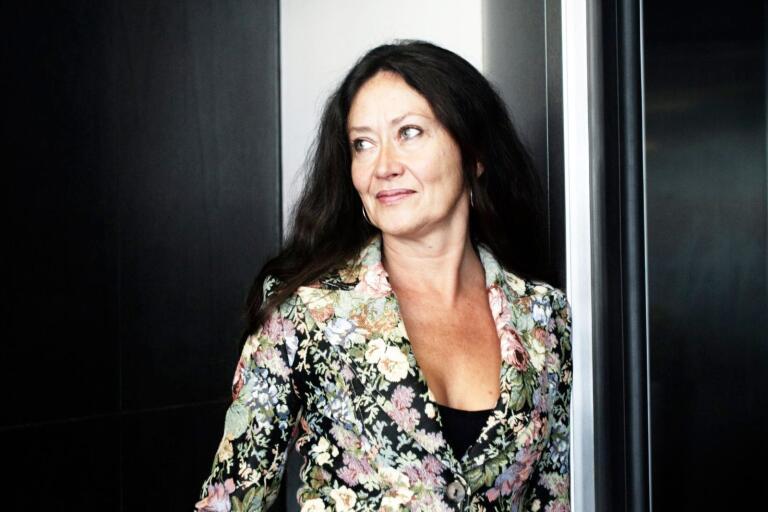 Anna-Lotta Larsson sjöng in julen i Borås.