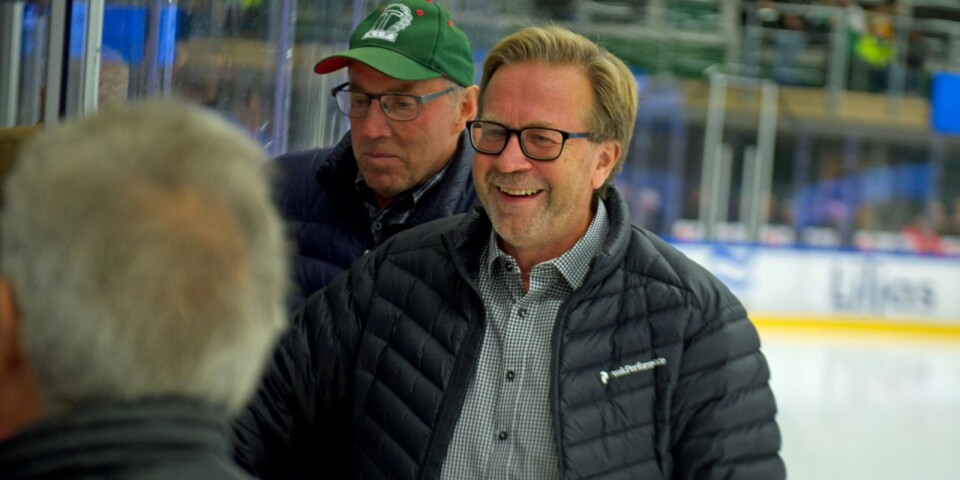 Conny Ingemarsson och Anders Jakobsson missar inte gärna en hemmamatch.