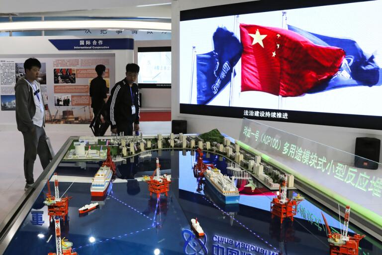 Kinas första egna atomreaktor har startat
