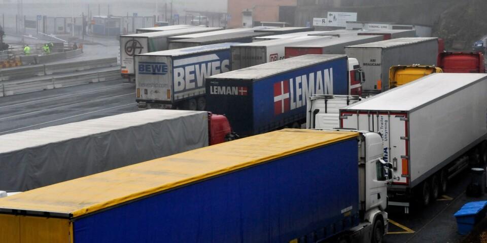 """""""Transportnäringen är en förutsättning för handeln, industrin och för att hela samhället ska fungera. Även om hela tillvaron ställts på sin spets till följd av coronapandemin, rullar transporterna."""""""