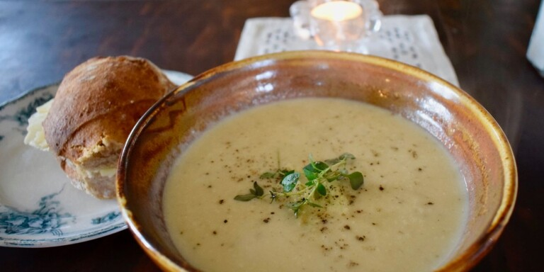 Rich soup to warm you in the chilly autumn weather