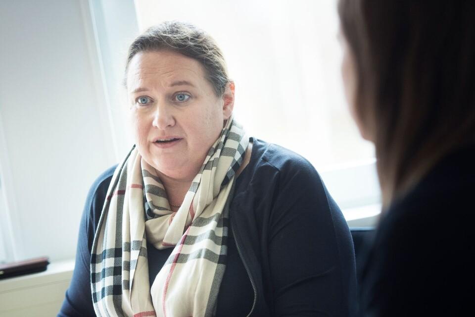 Camilla Gärdebring, omsorgschef.