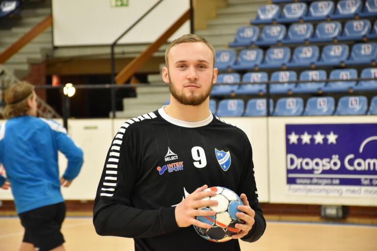 Lucas Lidbeck ny i IFK Karlskrona.