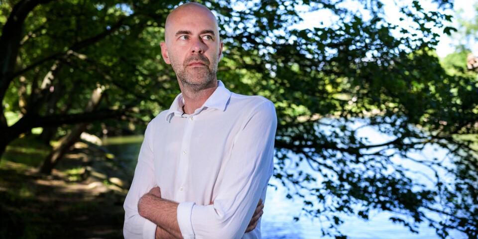Patrik Svensson som fick Augustpriset för boken Ålevangeliet är en av författarna som besöker Karlshamn under Berättarkraft.