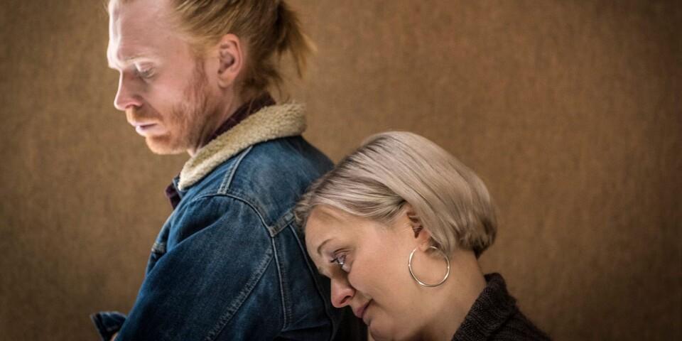 "Jörgen Thorsson och Elisabeth Wernesjö i Lars Noréns ""Episod""."
