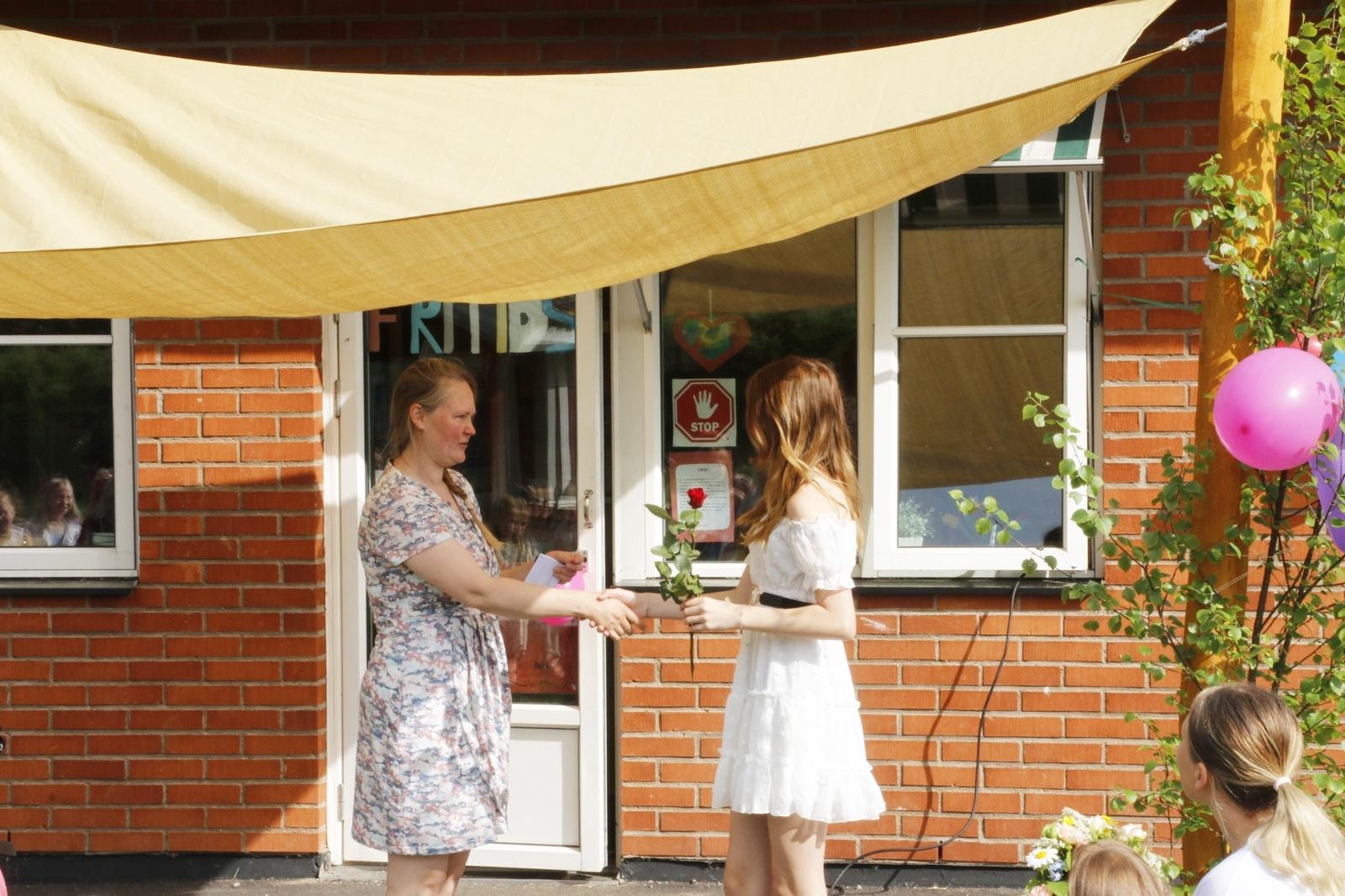 Skolavslutning 2021, Marbäcks skola