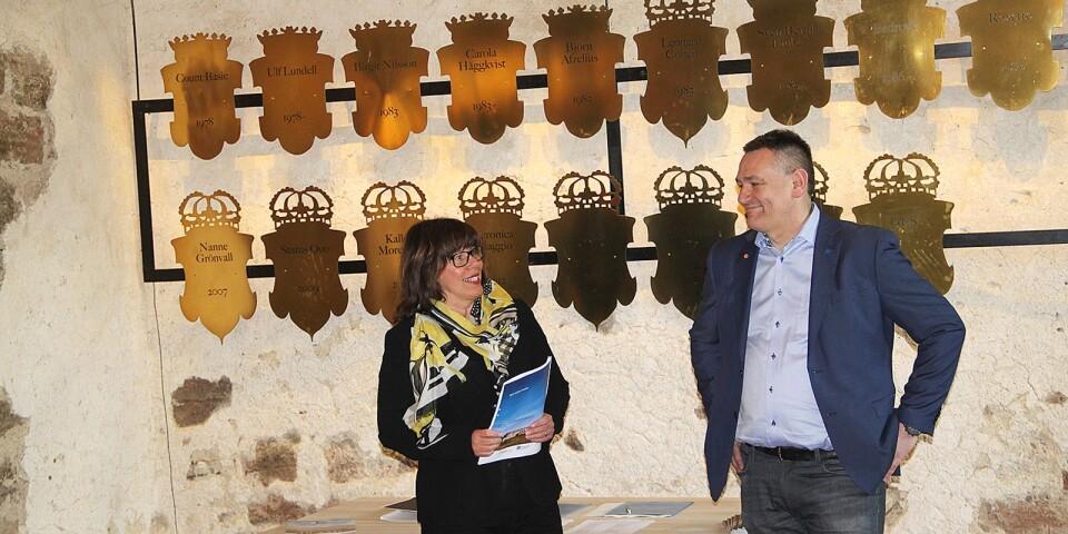 Ingrid Eiken Holmgren, generaldirektör på Statens fastighetsverk och kommunalrådet Ilko Corkovic (S) var båda nöjda med samarbetet.