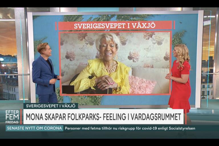 """Växjösångerskan Mona G: """"Anna Brolin blev tårögd"""""""