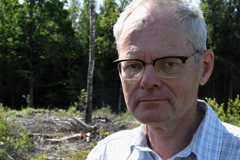 Södra ville inte vara med och finansiera myndigheternas laserskanning av den svenska skogen, berättar medlemschef Gustav Tibblin.