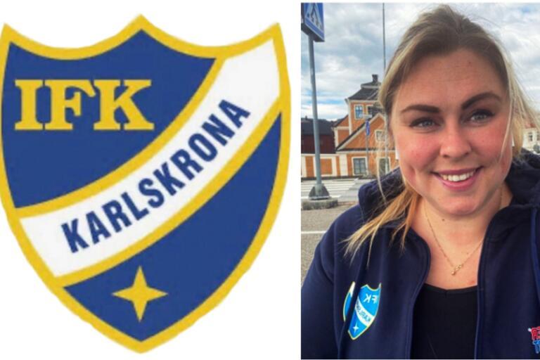 Malin Fogelmark ska starta upp ett damlag i IFK Karlskrona.