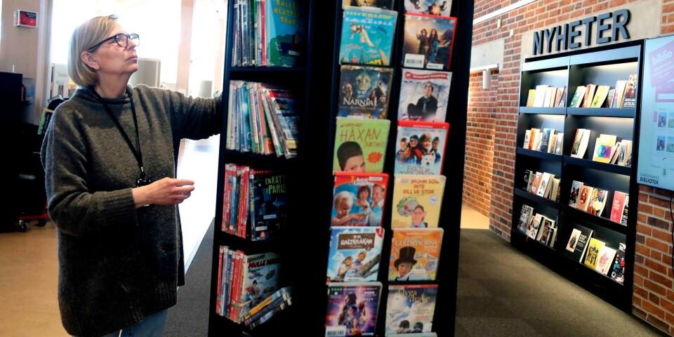 Biblioteket kommer satsa på att dela in lokalen i tydliga zoner. Med hjälp av ljuddämpande material hoppas man kunna hindra ljudet från att vandra för mycket, säger bibliotekschef, Kristin Rosenberg.