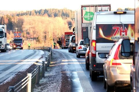 Klart färre olyckor sedan väg 40 byggdes ut till motorväg