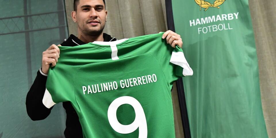 Paulinho har skrivit på för två år med Hammarby.