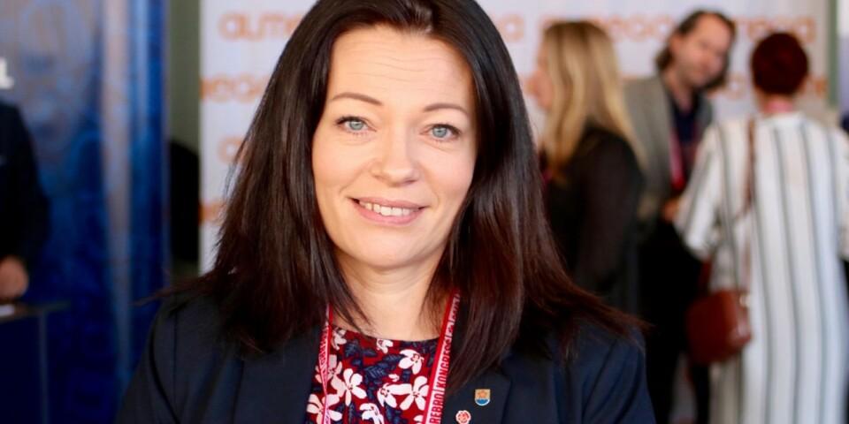 Matilda Wärenfalk (S), kommunstyrelsens ordförande.