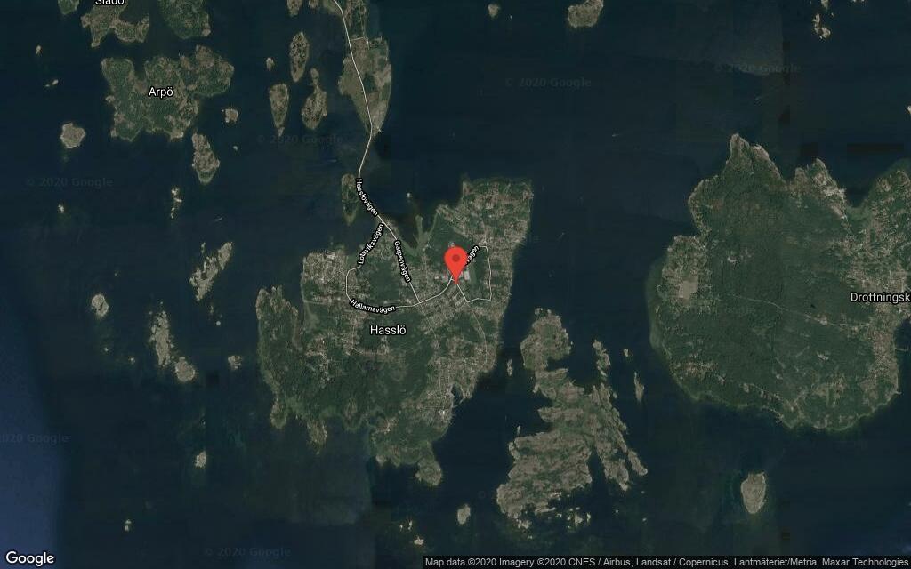 109 kvadratmeter stort hus på Hasslö sålt för 1900000 kronor