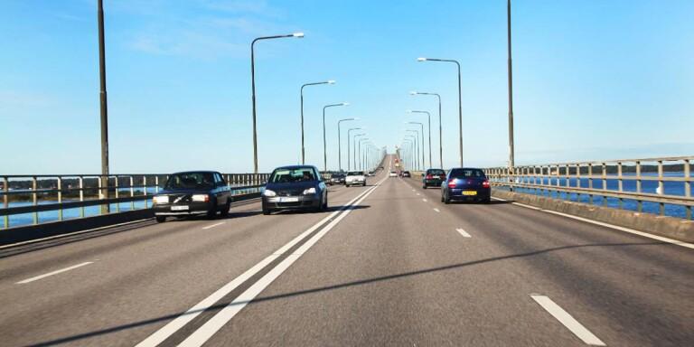 15-åring för snabb på Ölandsbron.