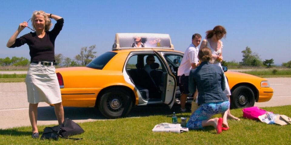 Gatufotografering är Kjell Sundquists passion. Bilden ovan togs under en krånglig taxiresa i USA.