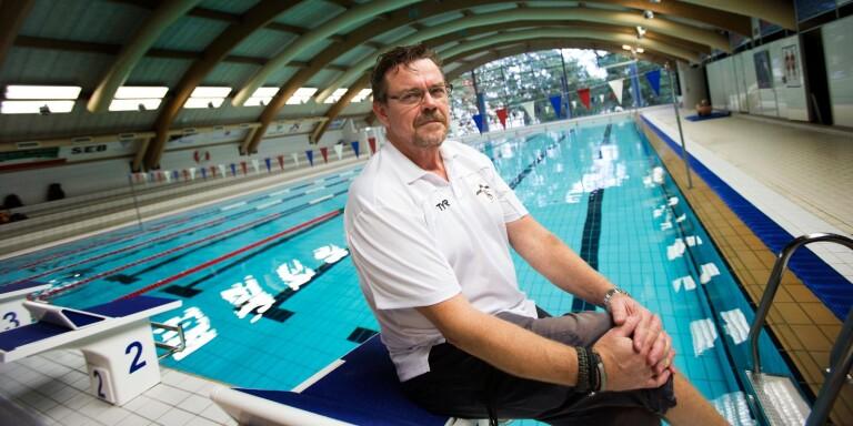 Tommy Lindell, chefstränare Trelleborg Sim.