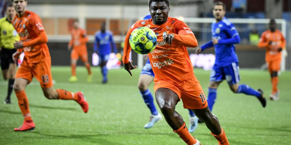 Samuel Nnamani avgjorde för AFC Eskilstuna.