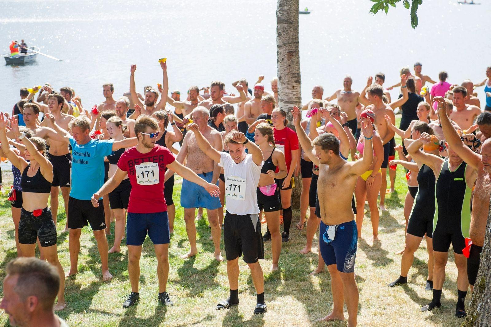 Hensmåla Triathlon har utvecklats till en välgörare för kropp och själ.