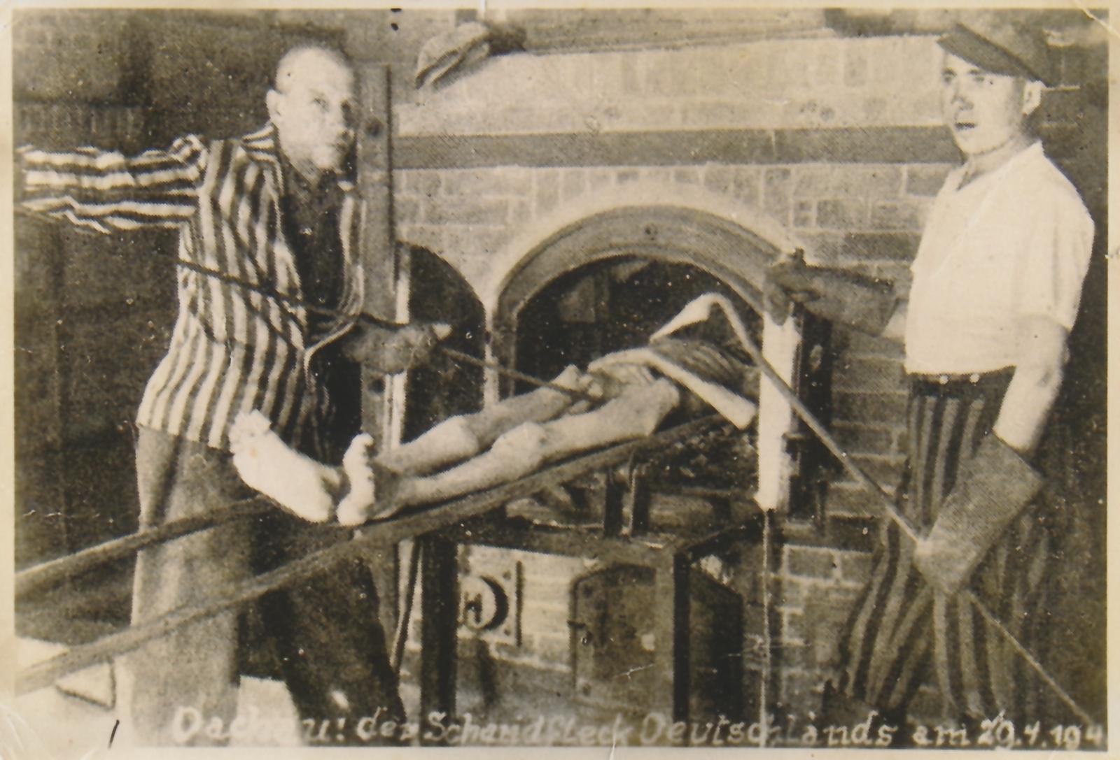 Fångarna i lägren fick själva tjänstgöra vid krematorierna. Som belöning fick de mer mat.