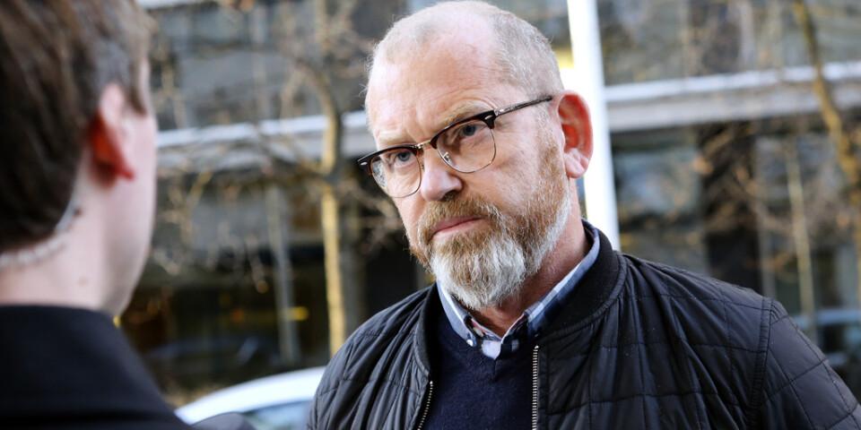 Byggnads ordförande Johan Lindholm är den i nuläget andre kandidaten. Arkivbild.