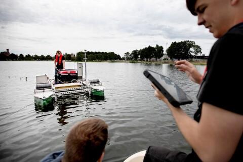 """Nu renas Malmfjärdens botten av undervattensrobot: """"Unik"""""""