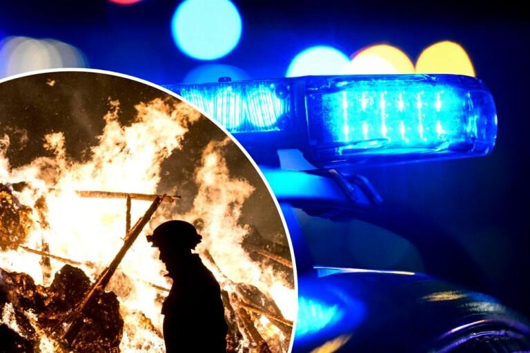 Medan du sov: Våld på tåg och brand i sommarstuga
