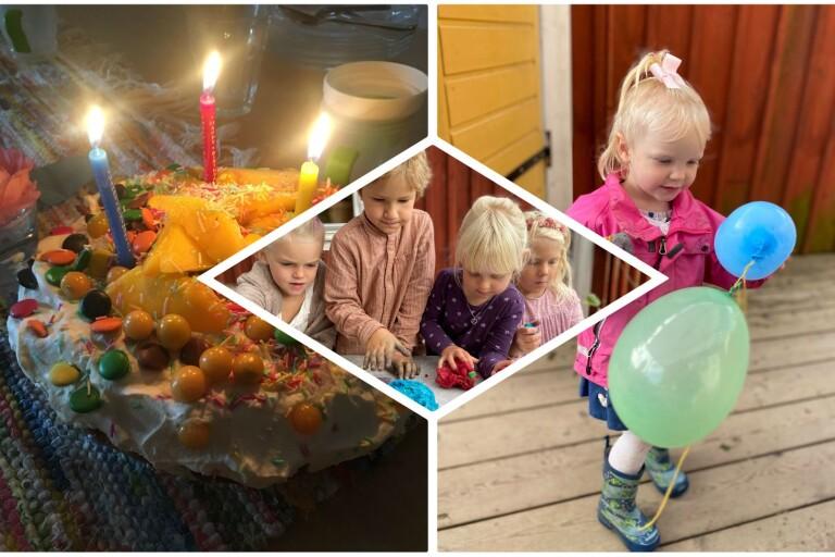 Förskolebarn firade 30-årskalas