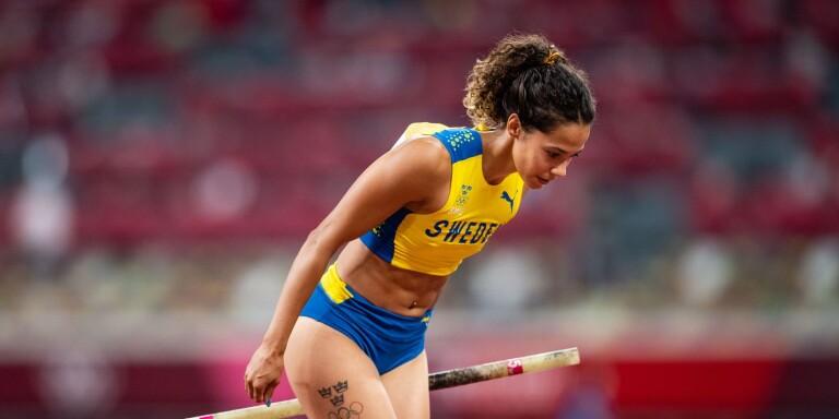 Angelica Bengtsson rev ut sig i OS-finalen