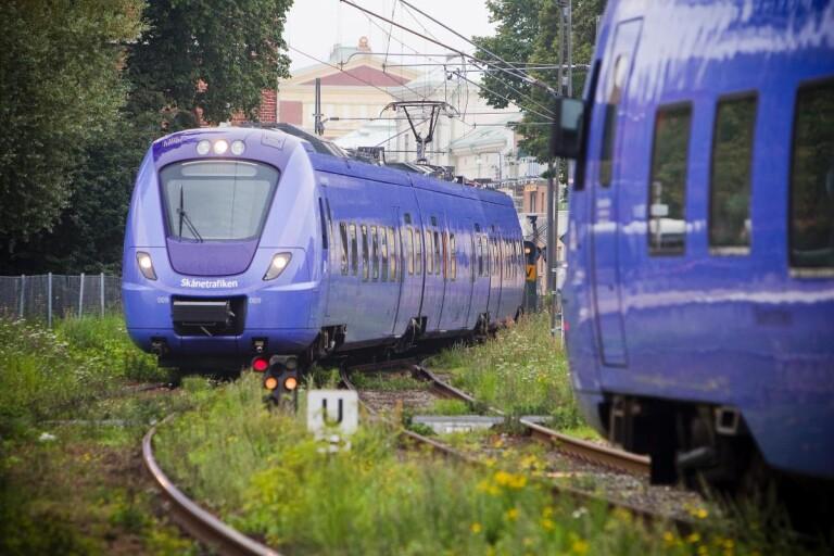 Stopp i tågtrafiken – obehöriga i spåret