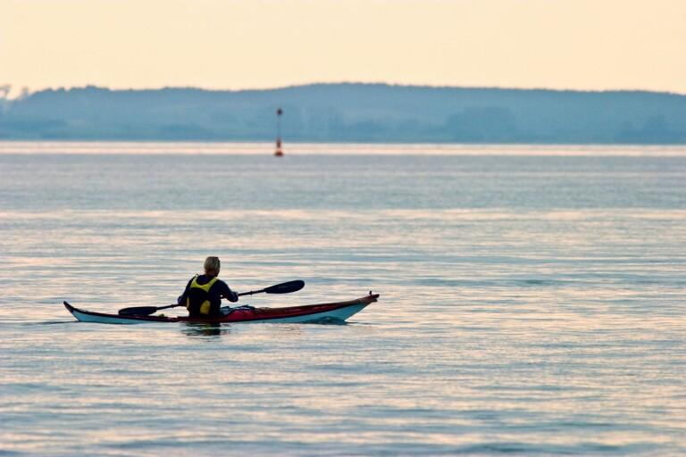 Polsk paddlare hamnade utanför Öland – räddades i nöd