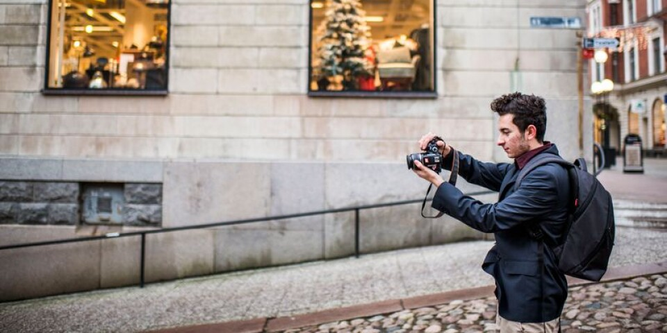 Mateo Lozanos fotointresse startade när han flyttade till Karlskrona från Colombia.