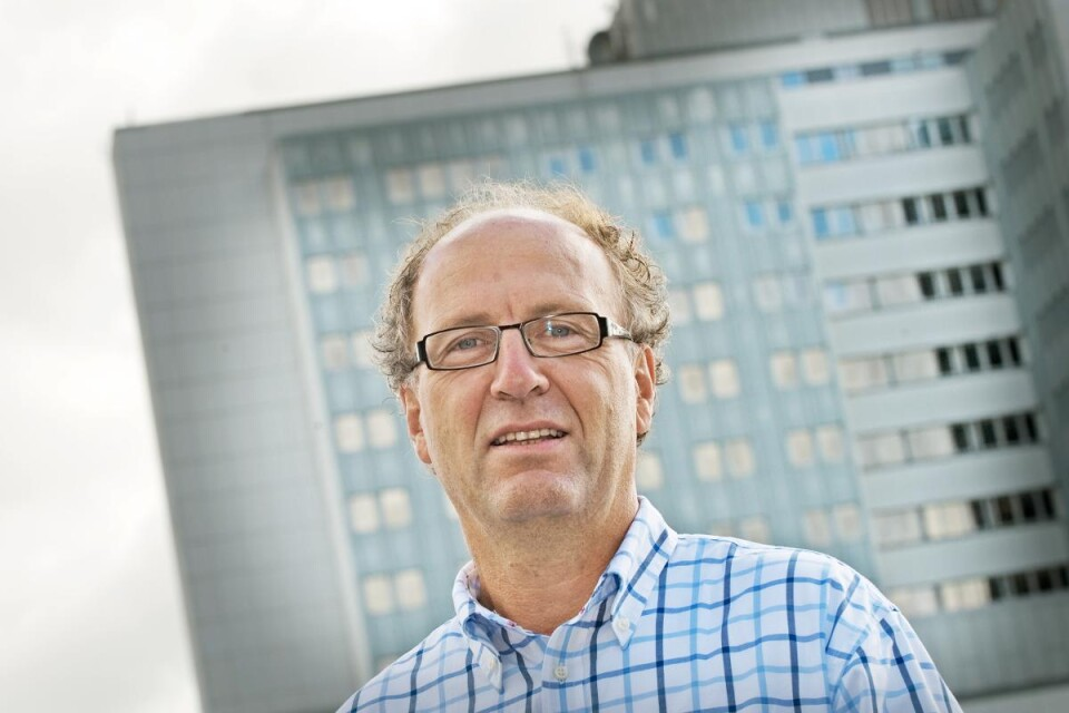 Staffan Banke, Director of Operations for the Infection Clinic at CSK.