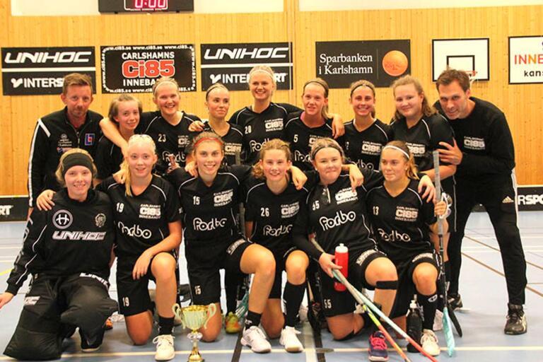 Carlshamn F03/04 vann DM före FBC Karlskronas F04/05.