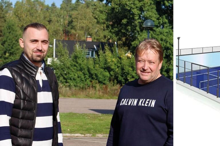 """De ska bygga padelbana vid Kalmarrondellen: """"Vill inte missa läget"""""""