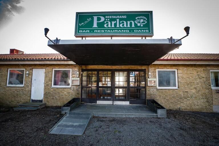 Inbrott på nyöppnade restaurang Pärlan