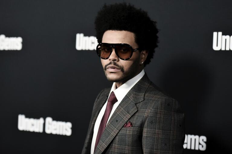 The Weeknd. Arkivbild.