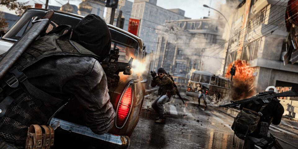 """Som vanligt är det en hel del action i """"Call of duty: Black ops cold war"""". Pressbild."""