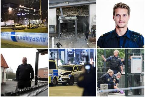 Granater vid polishus – här är attackerna som drabbat polisen