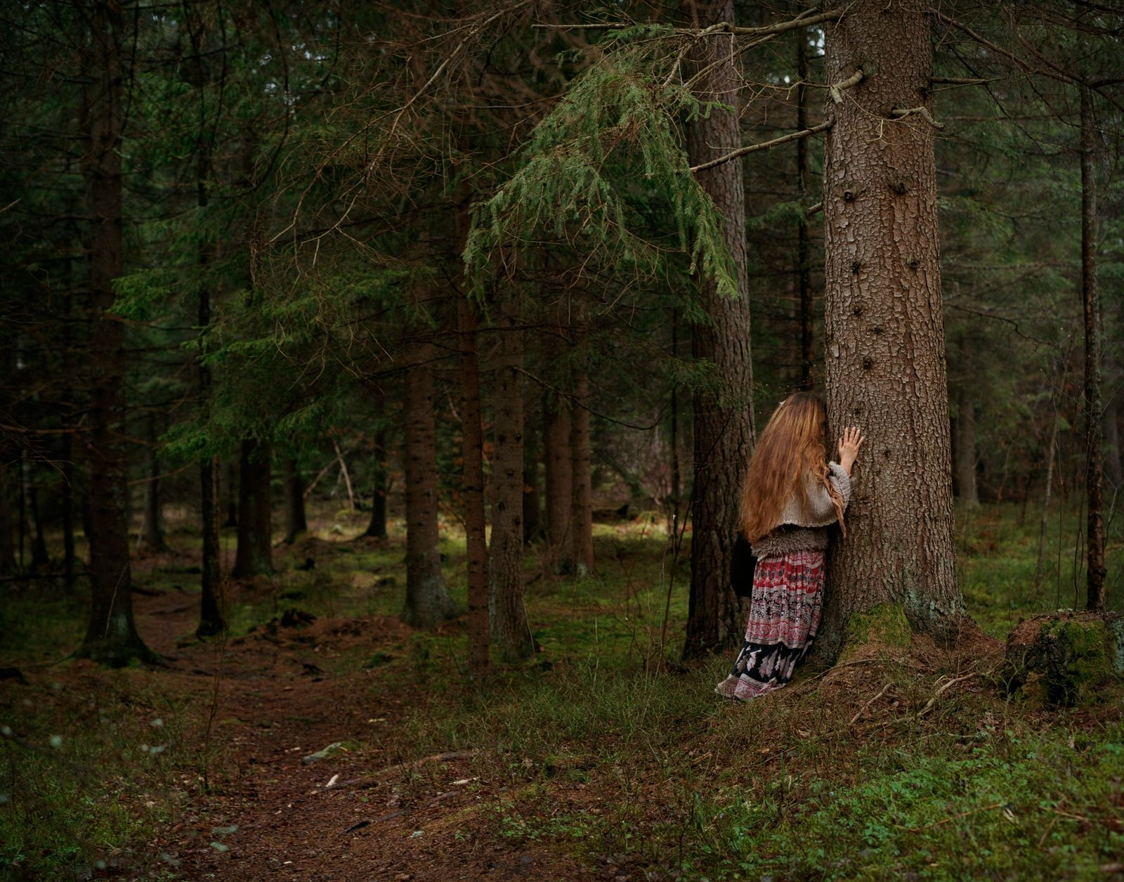 "Shamanic Priestess Teresa, Awaken the Wild Woman Retreat, Stockholm, 2018. Tagen från boken ""Awakening""."